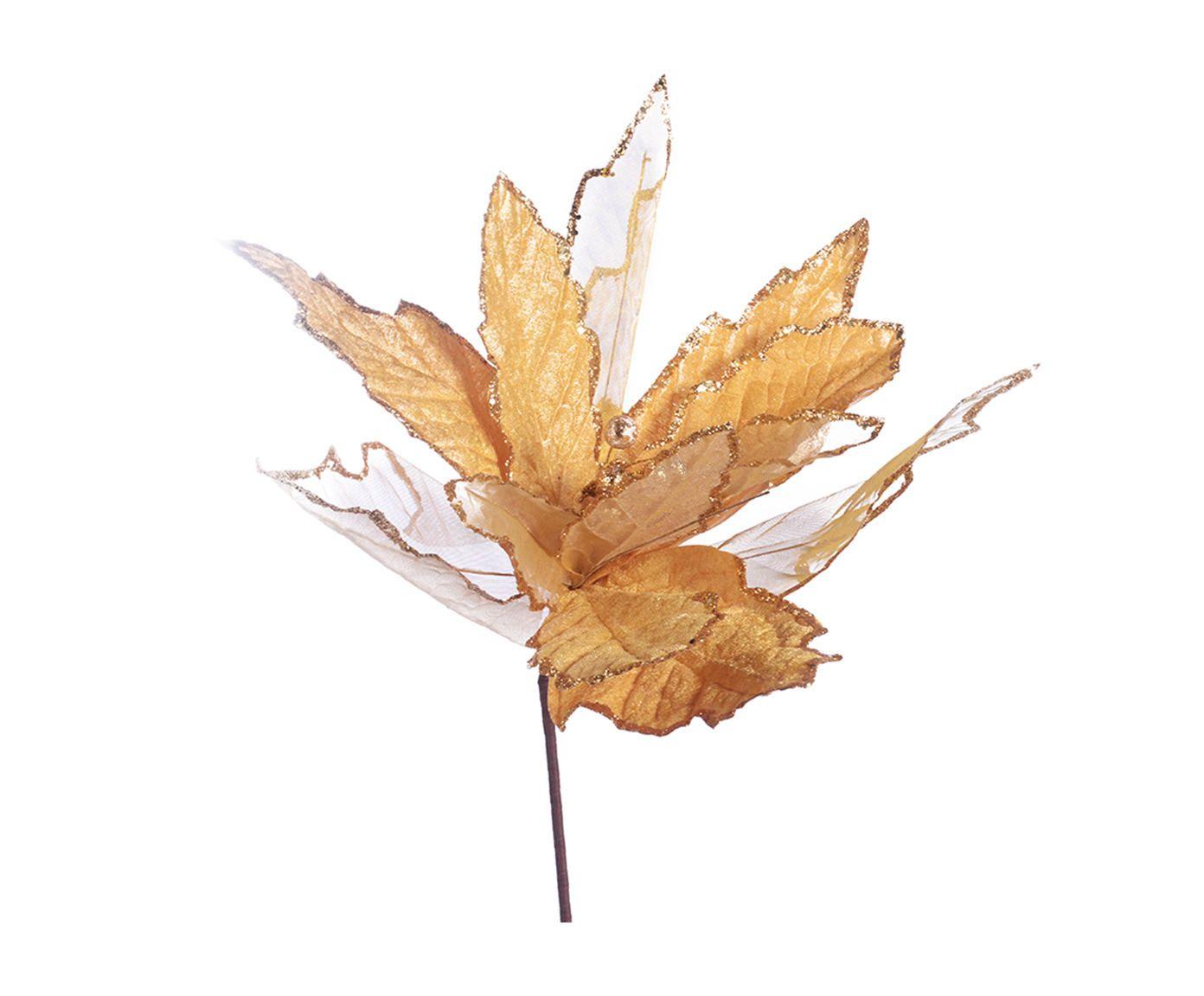 Planta Permanente Flor Decorativa Gazz Dourada - 40X85cm | Westwing.com.br