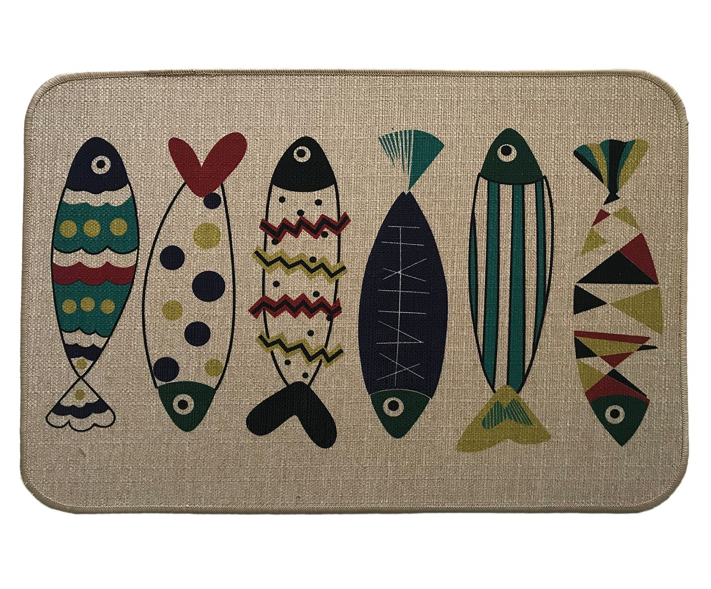 Capacho Fishes - 40X60cm | Westwing.com.br