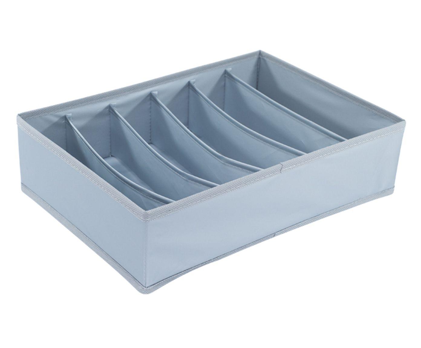 Organizador Dobrável Oikos Six Azul - 34X24cm | Westwing.com.br