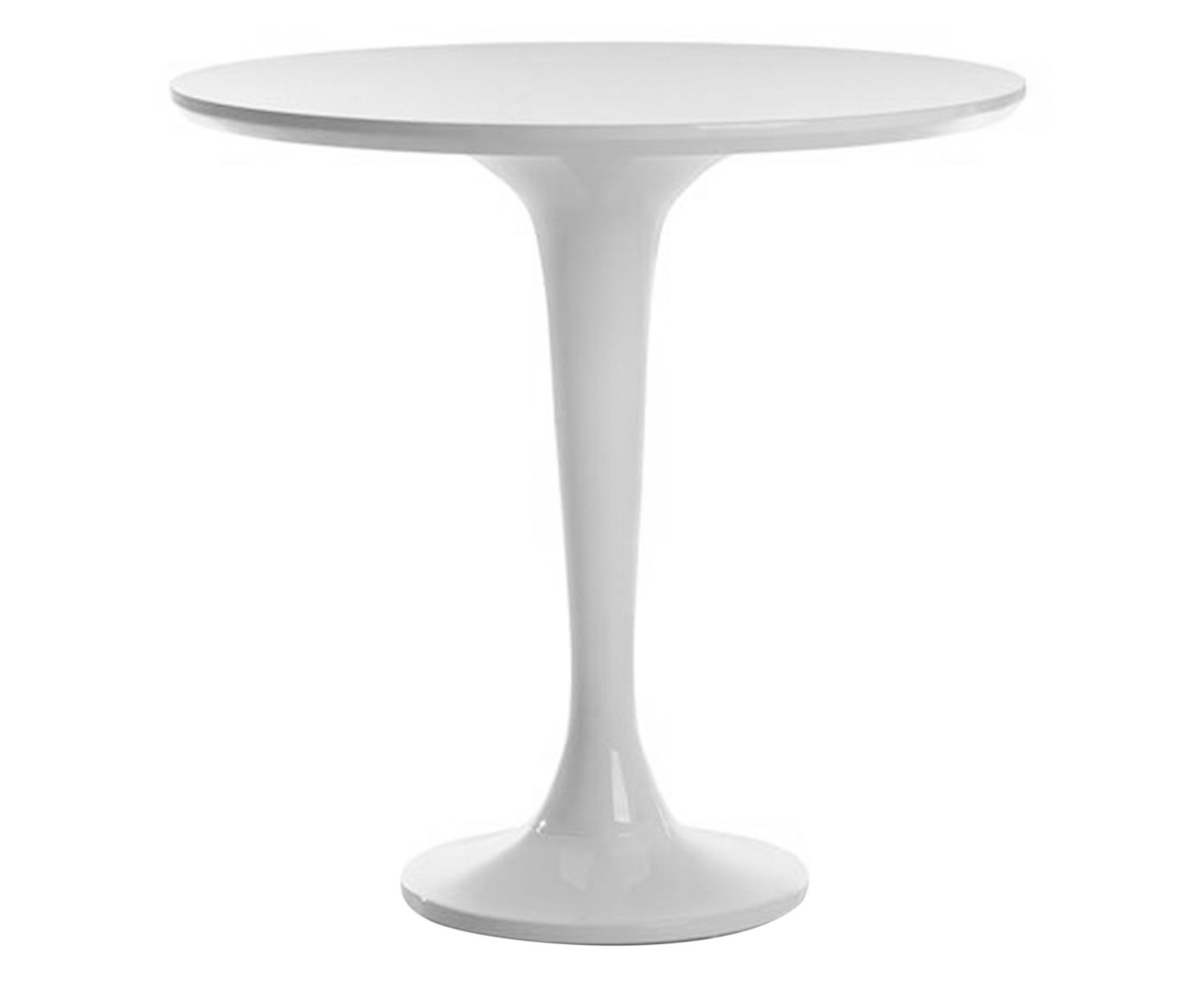Mesa Lateral Pino Branca - 70cm | Westwing.com.br