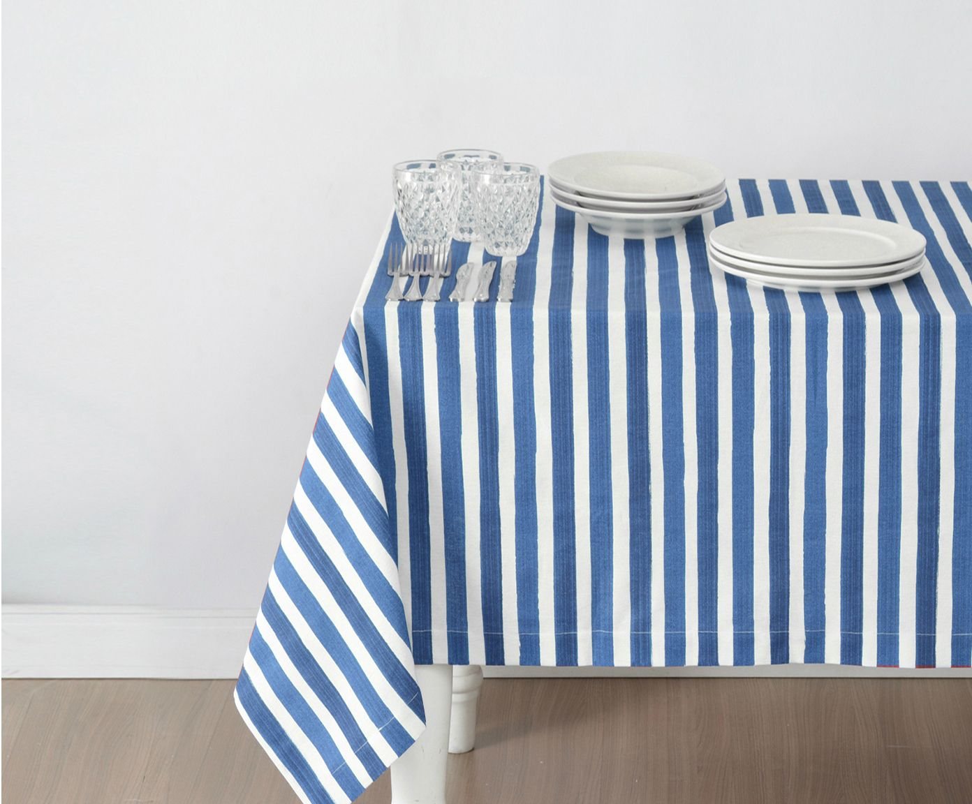 Toalha de Mesa Amalfi Azul - 180X220cm | Westwing.com.br
