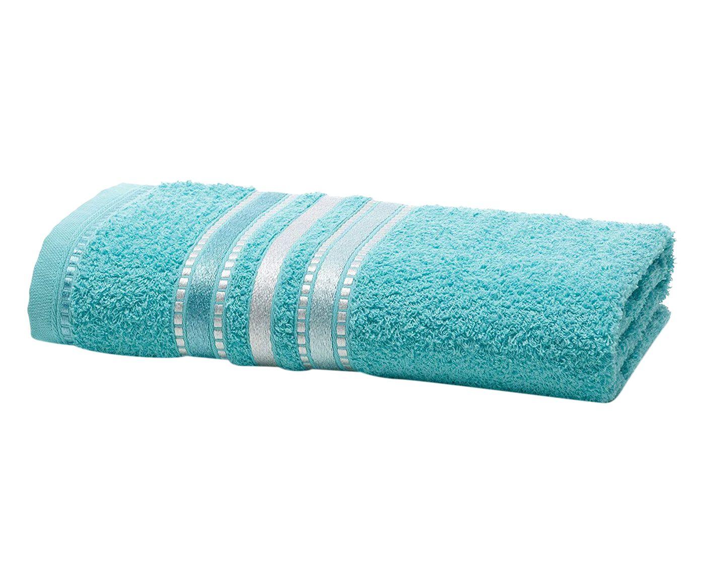 Toalha de Rosto Shine Azul Piscina - 48X70cm | Westwing.com.br