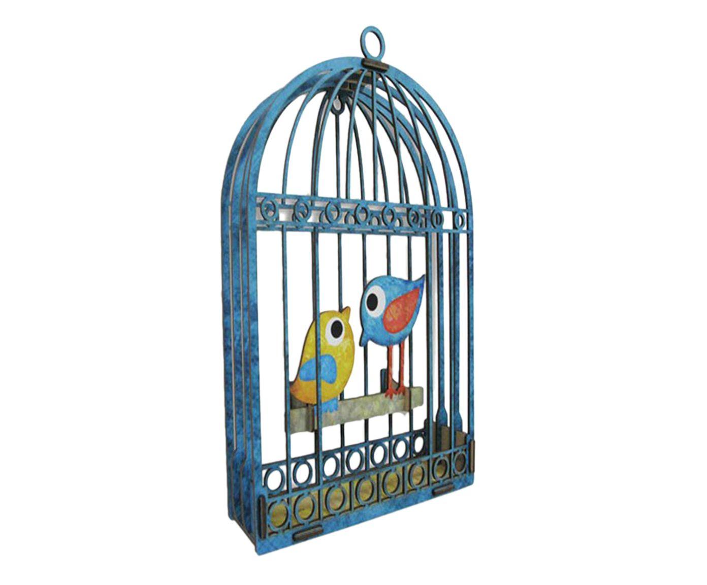 Adorno Gaiola Birds Apaixonado | Westwing.com.br