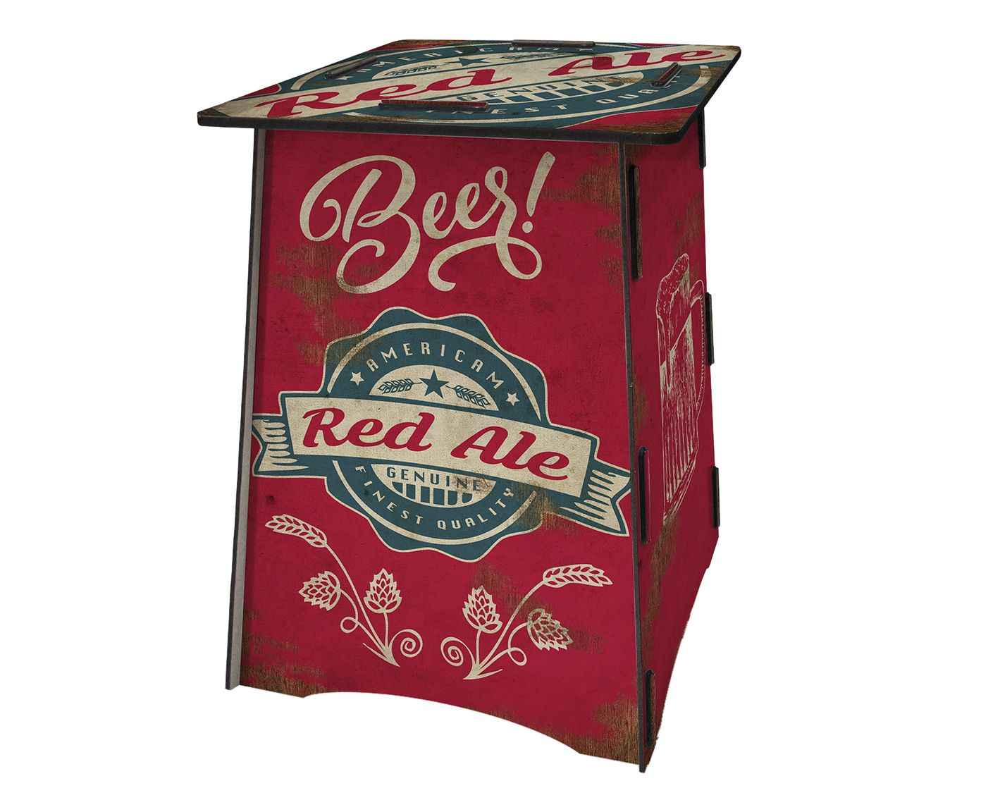 Banquinho Bipo Red Ale   Westwing.com.br