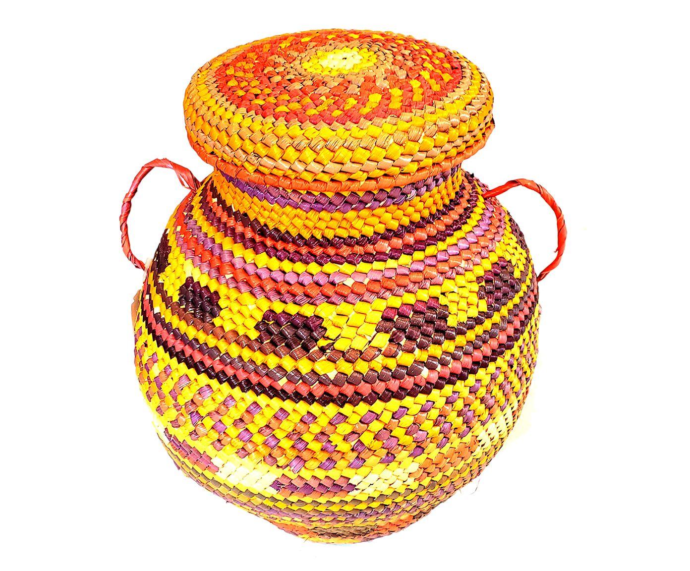 Vaso em Fibra Colorida - 26cm | Westwing.com.br
