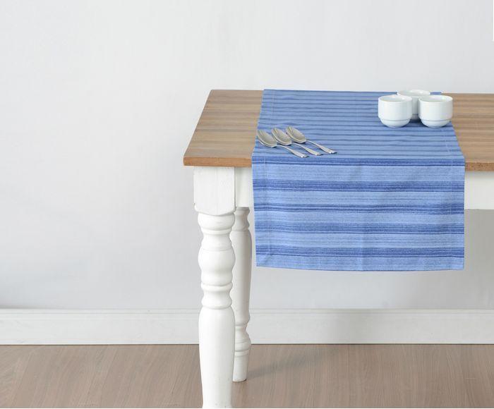 Caminho de Mesa Amalfi Azul - 50X150cm | Westwing.com.br