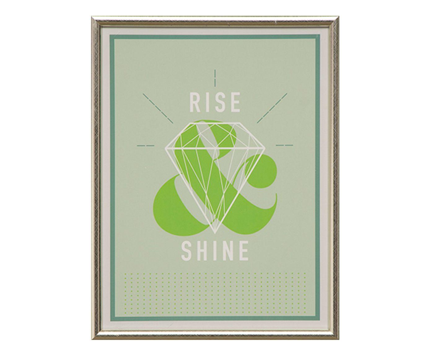 Quadro Rise Shine - 32X42cm | Westwing.com.br