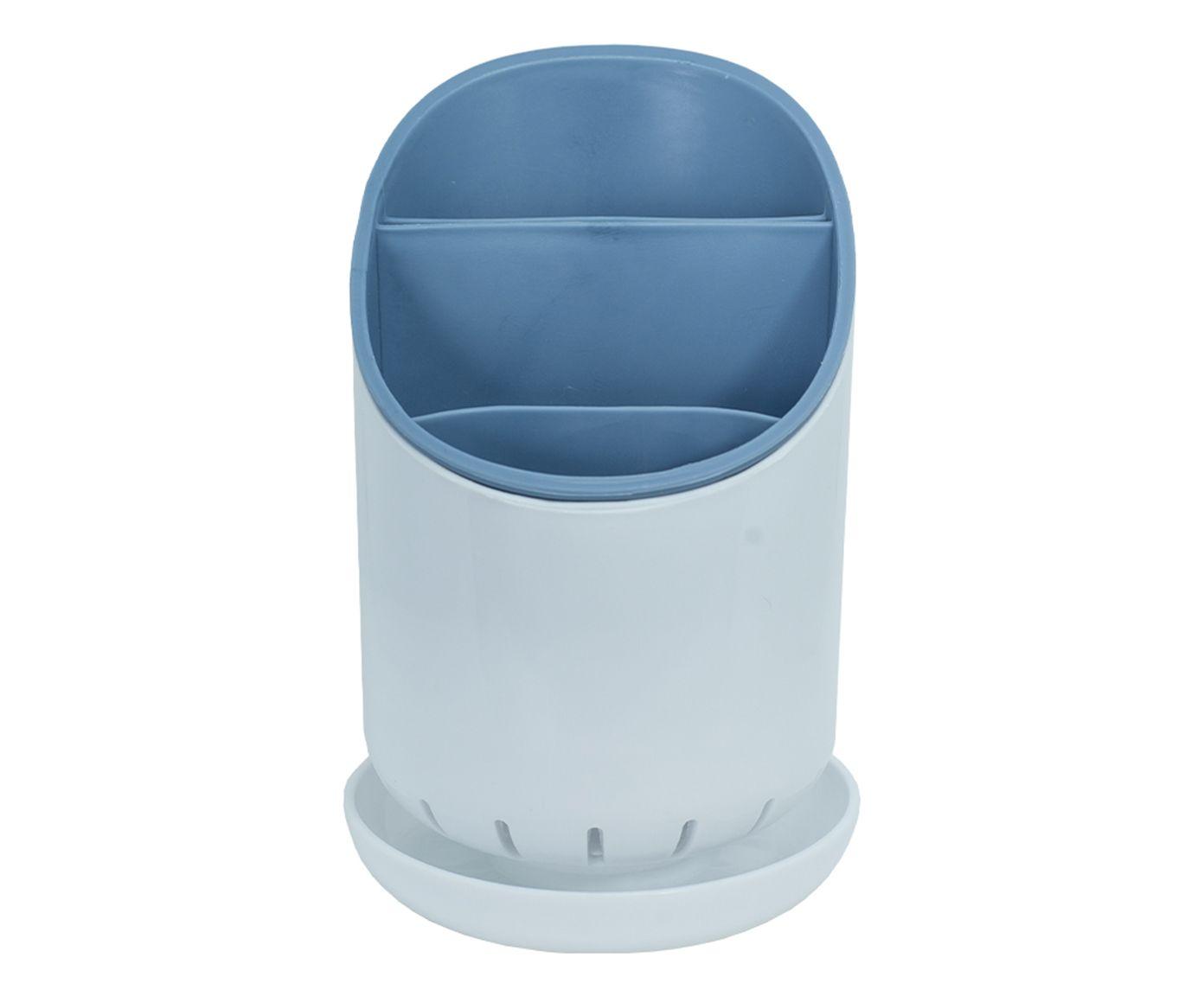 Escorredor de Talheres True Azul - 12X12cm | Westwing.com.br