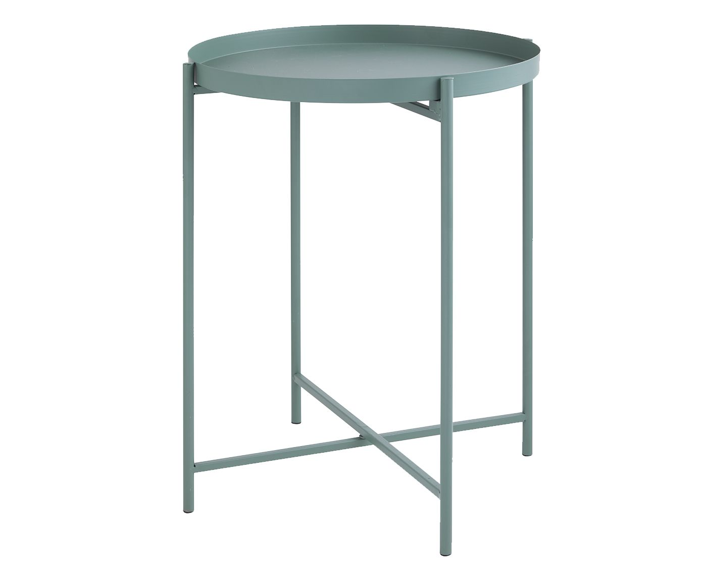 Mesa Lateral Columba Verde - 50X40cm | Westwing.com.br