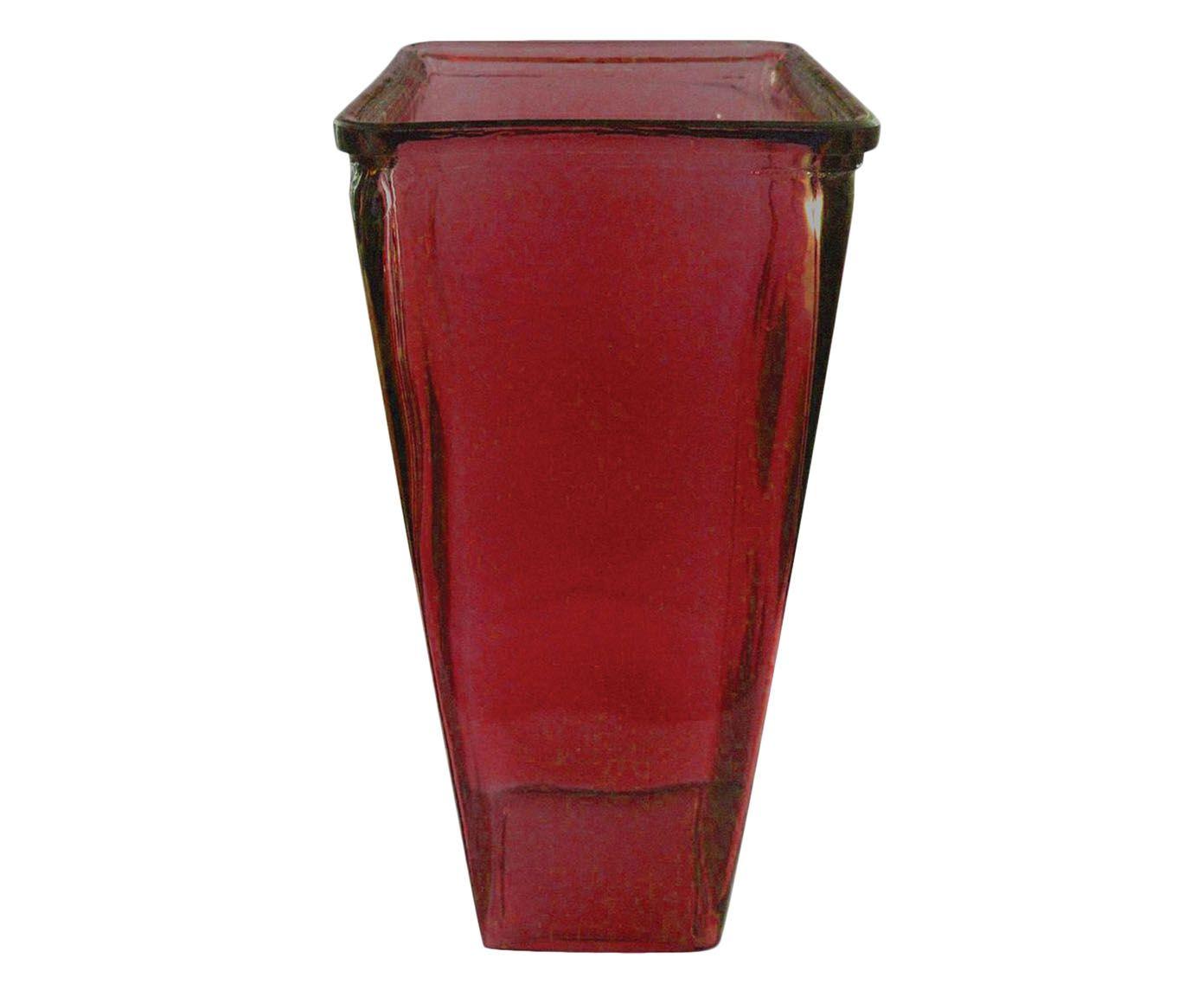 Vaso Chamb Vermelho - 30cm   Westwing.com.br