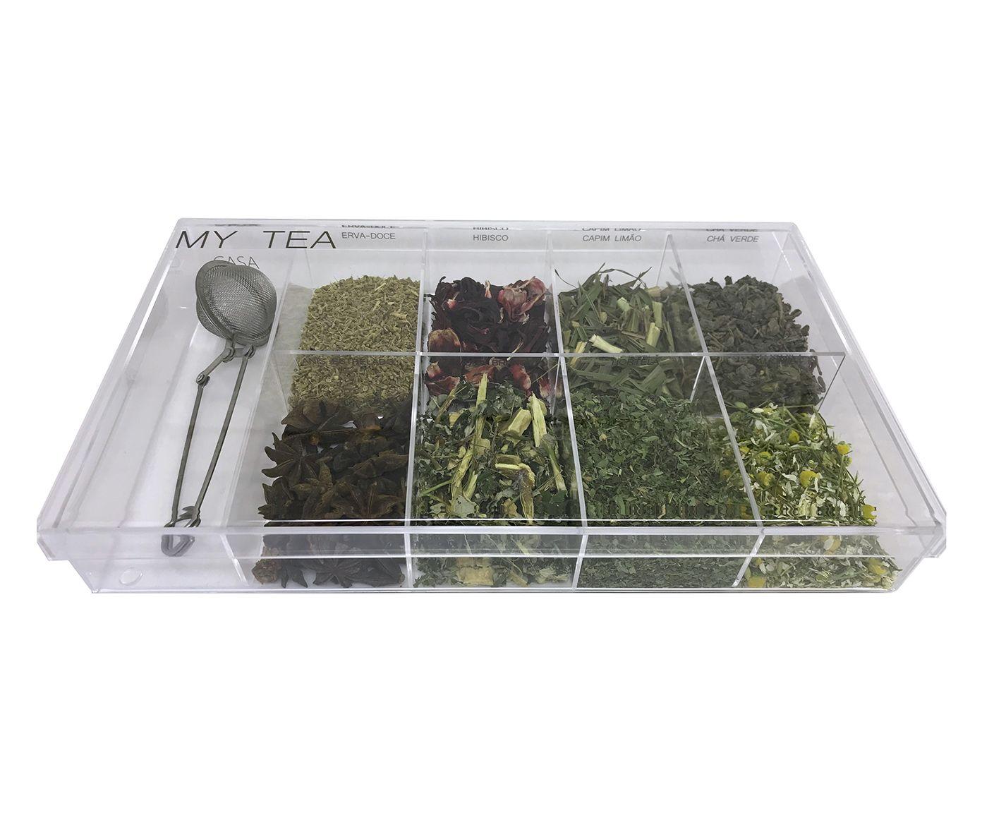 Caixa de Especiarias para Chá My Tea - 29,3X17,1cm | Westwing.com.br