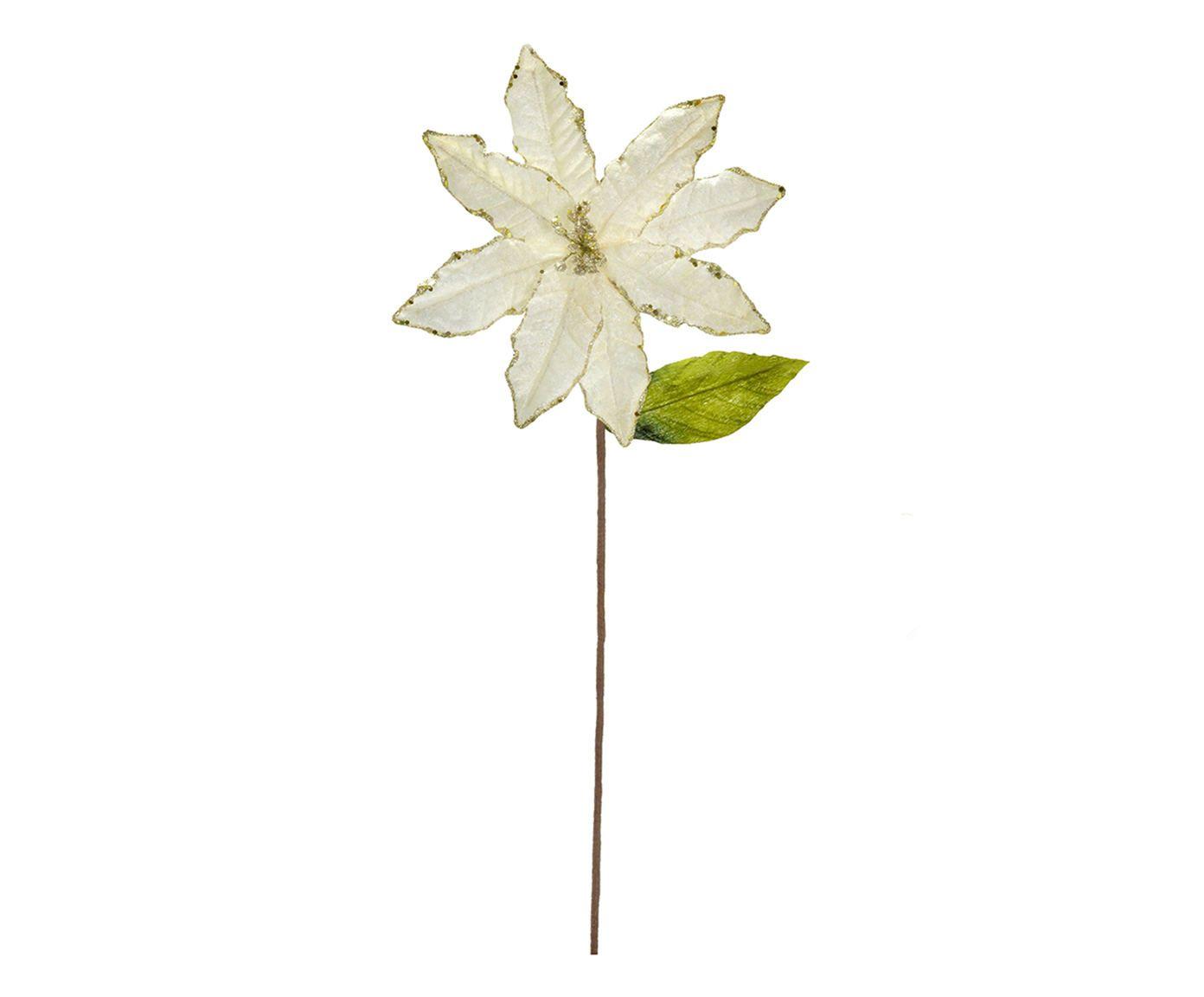 Planta Permanente Flor Salhe Branca - 20X70X8cm | Westwing.com.br