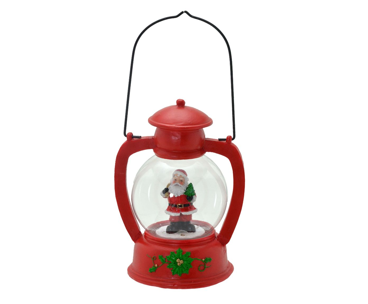 Lanterna Papai Noel - 14,5X20,5X12cm   Westwing.com.br