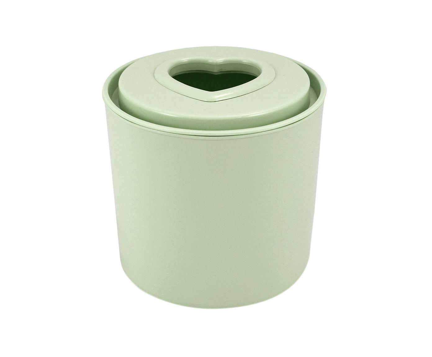 Porta-Papel Higiênico Lifestyle Verde - 13,5X14,5cm   Westwing.com.br
