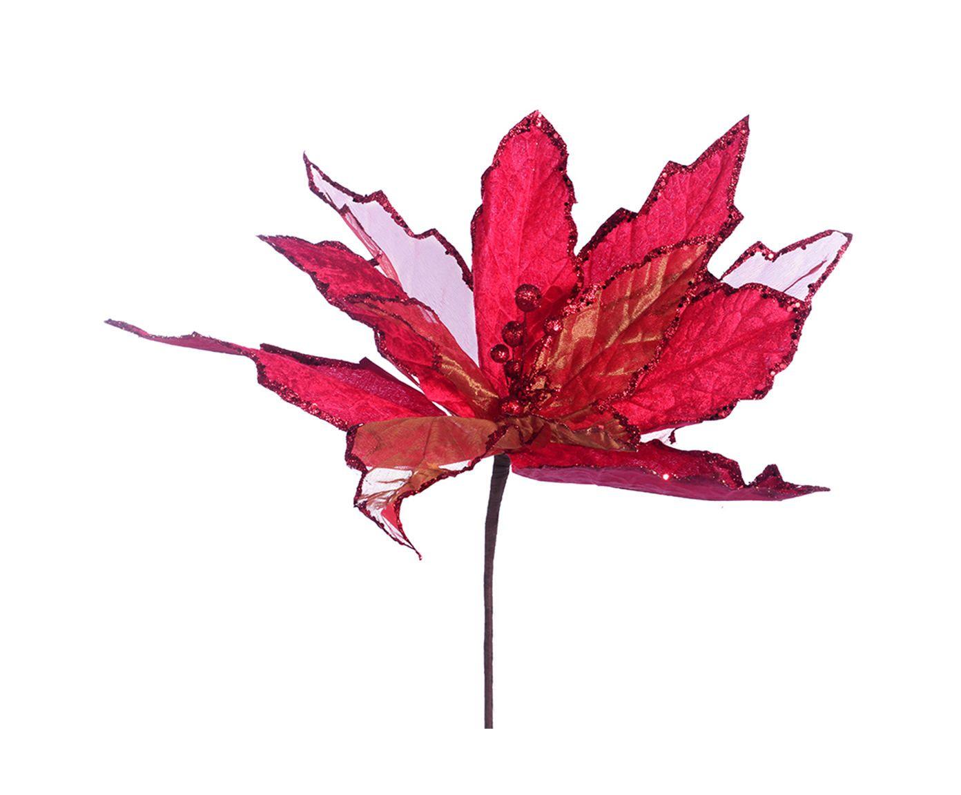 Planta Permanente Flor Decorativa Gazz Vermelha - 40X85cm   Westwing.com.br