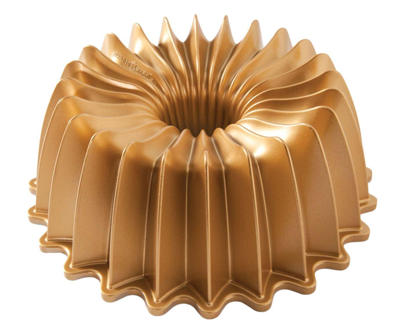 Forma para Bolo Gold Brilliance Bundt - 26cm | Westwing.com.br
