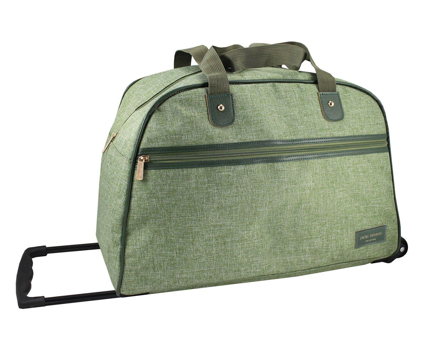 Bolsa de Viagem com Rodinhas Milane Verde - 55X31cm | Westwing.com.br