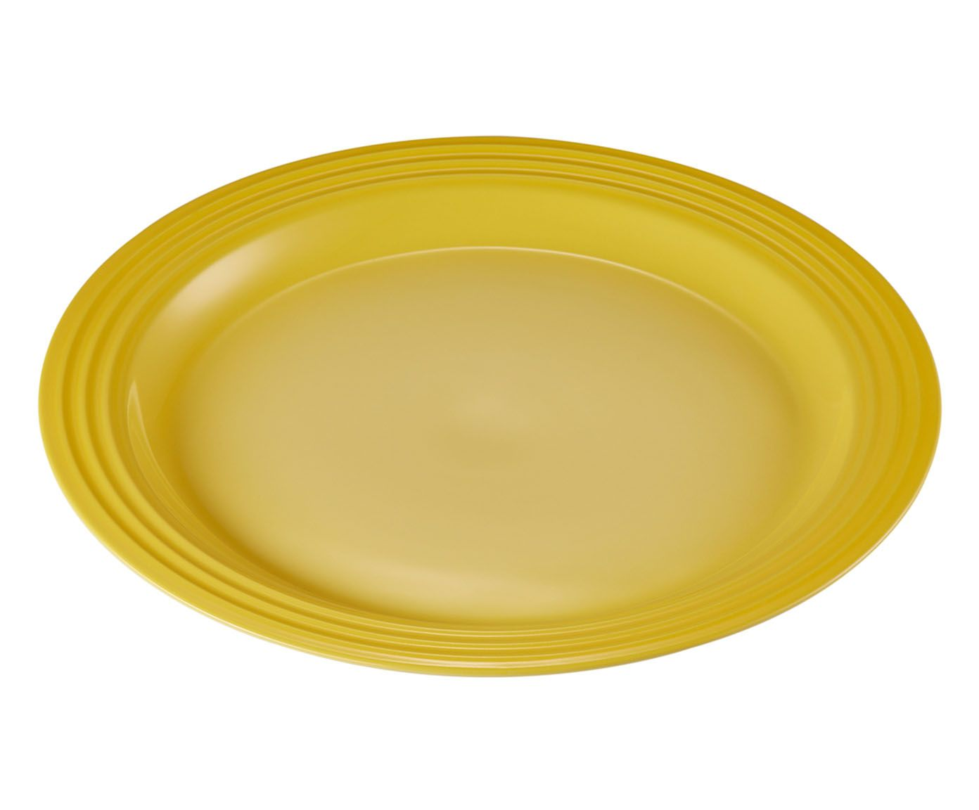Prato Raso Amarelo Soleil - 27cm   Westwing.com.br