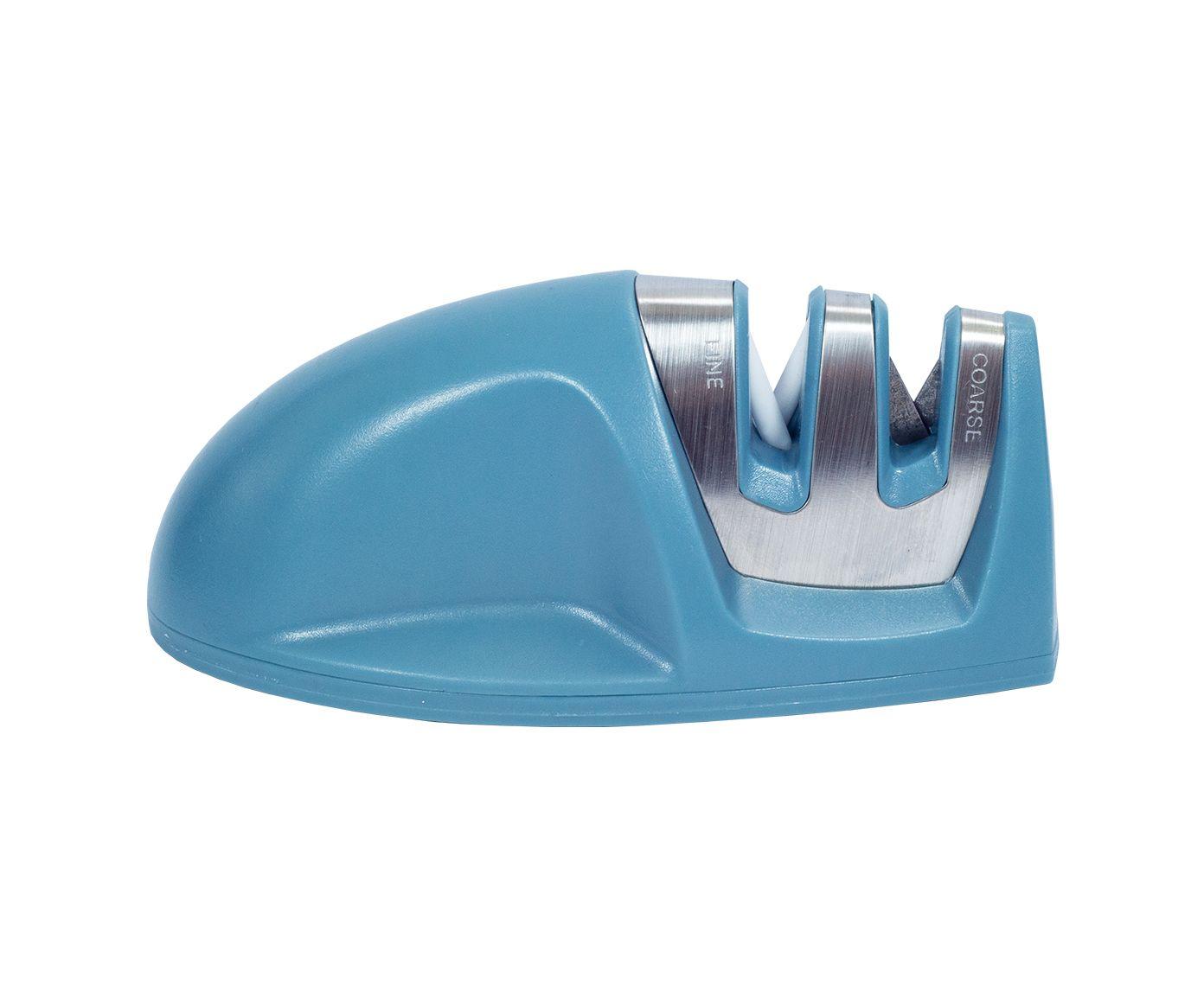 Afiador de Faca Helpful Azul - 4,5X10,2cm   Westwing.com.br