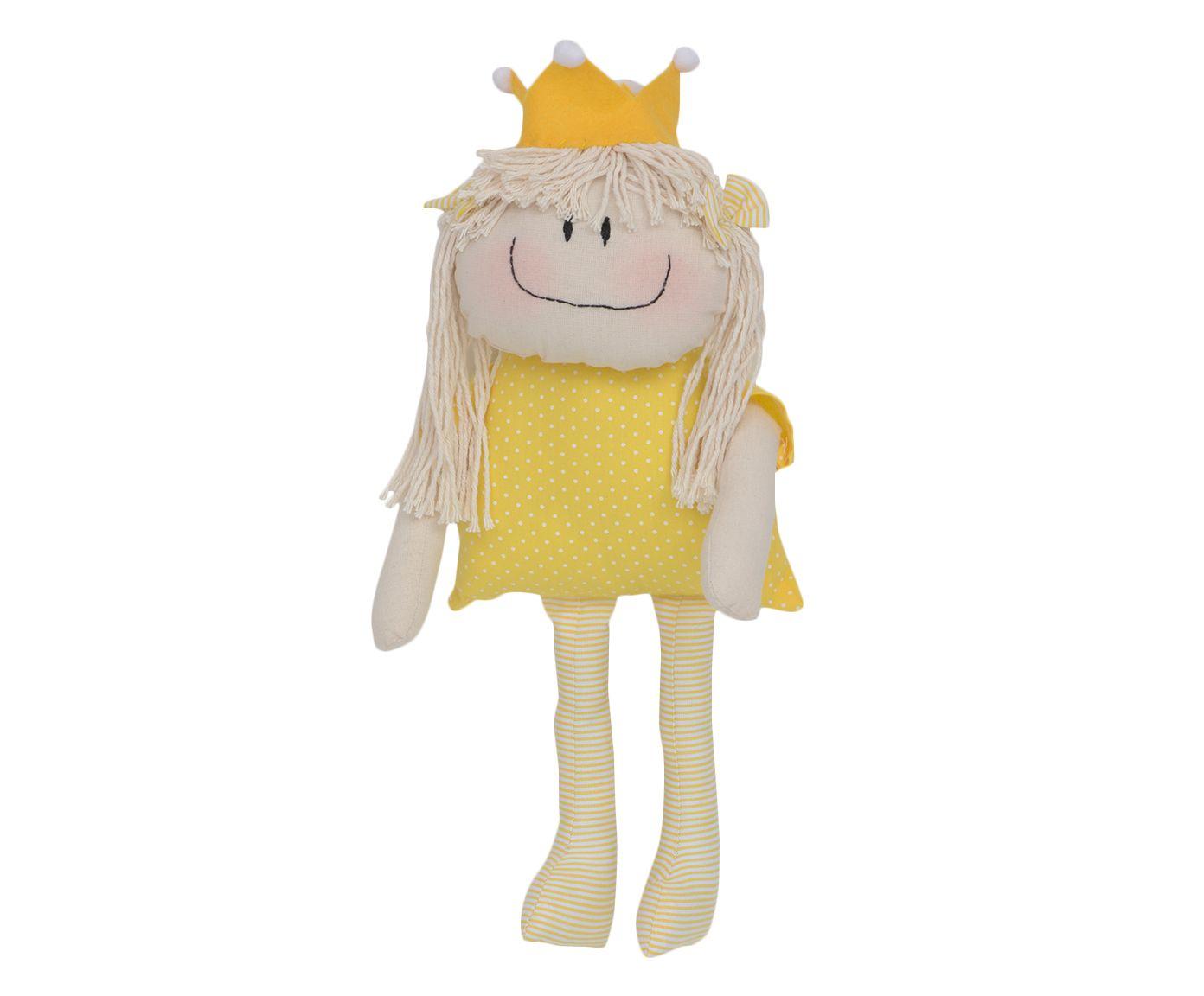 Boneca Princesa da Alegria - Amarela | Westwing.com.br
