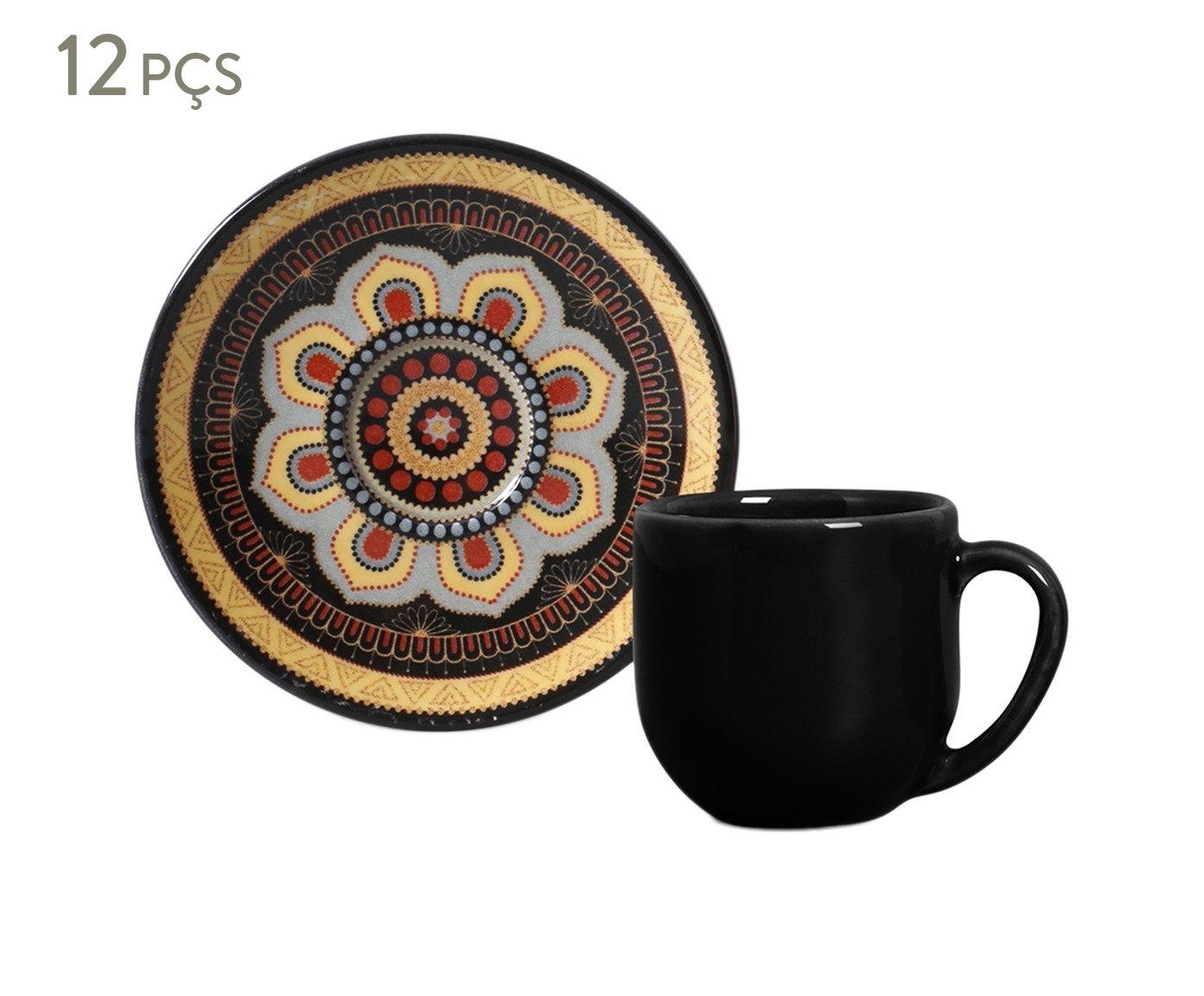 Jogo de Xícaras para Café com Pires Coup Eufrates Tigre - 112ml | Westwing.com.br