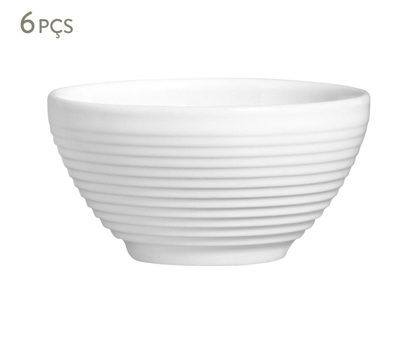 Jogo de Bowls Argos Branco - 450ml | Westwing.com.br