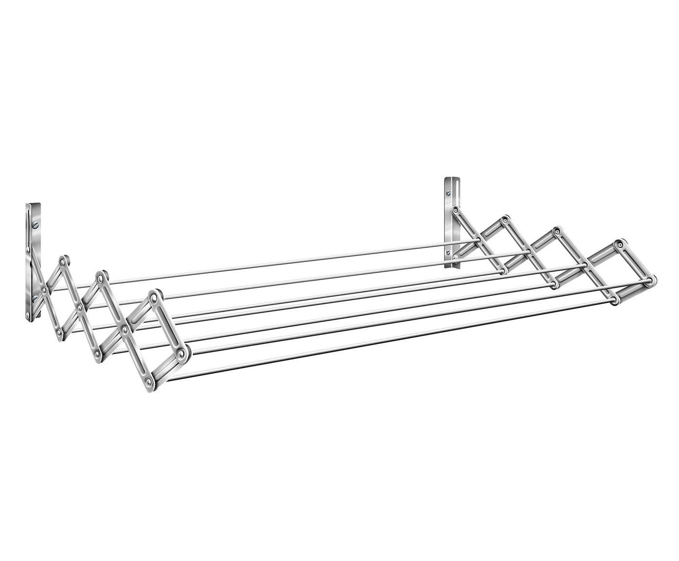 Varal Sanfonado em Inox Roma - 82X9,5X17cm | Westwing.com.br