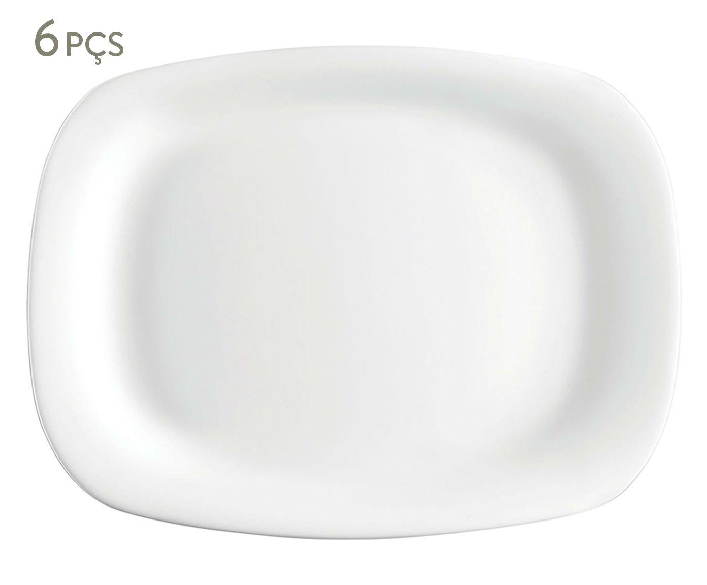 Jogo de Pratos Parma - 21,7X2X16,3cm | Westwing.com.br