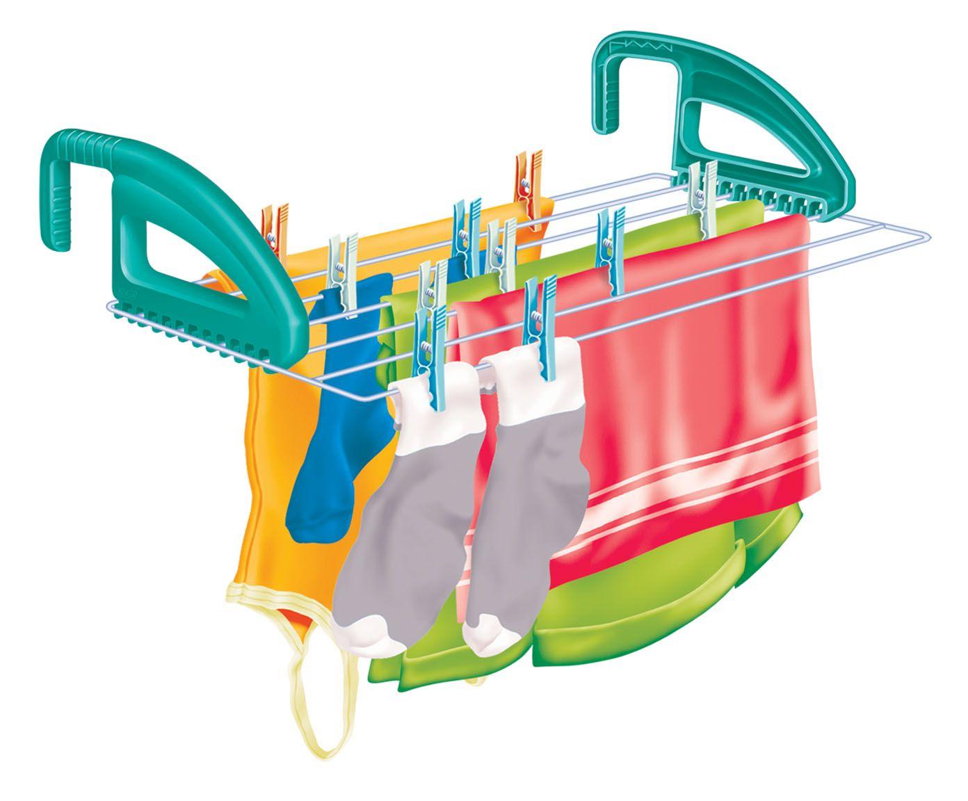 Varal Portátil em Inox Slick - 50X37cm | Westwing.com.br