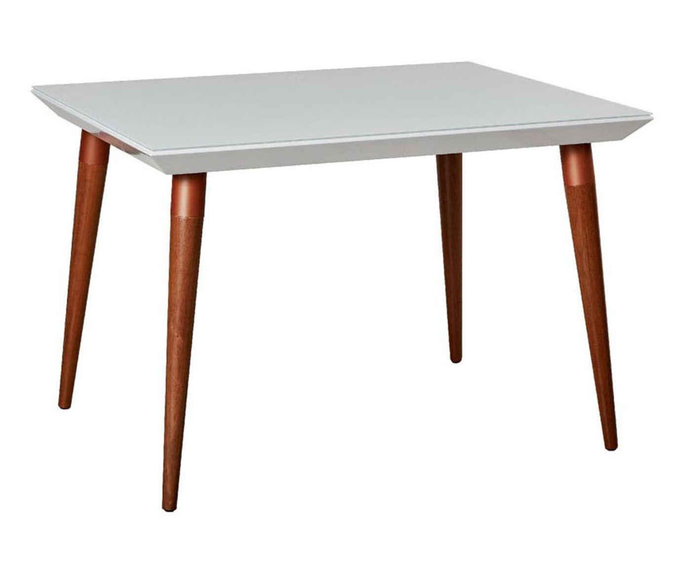 Mesa de Jantar Liv Gloss - 115,5X78X89,5cm | Westwing.com.br