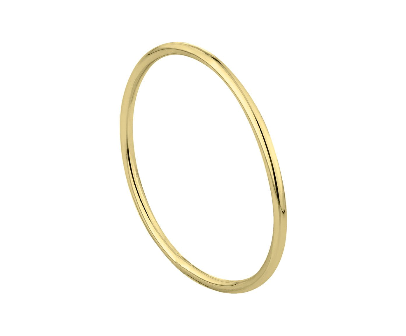 Anel Fio Liso Gold, Aro: 14 | Westwing.com.br