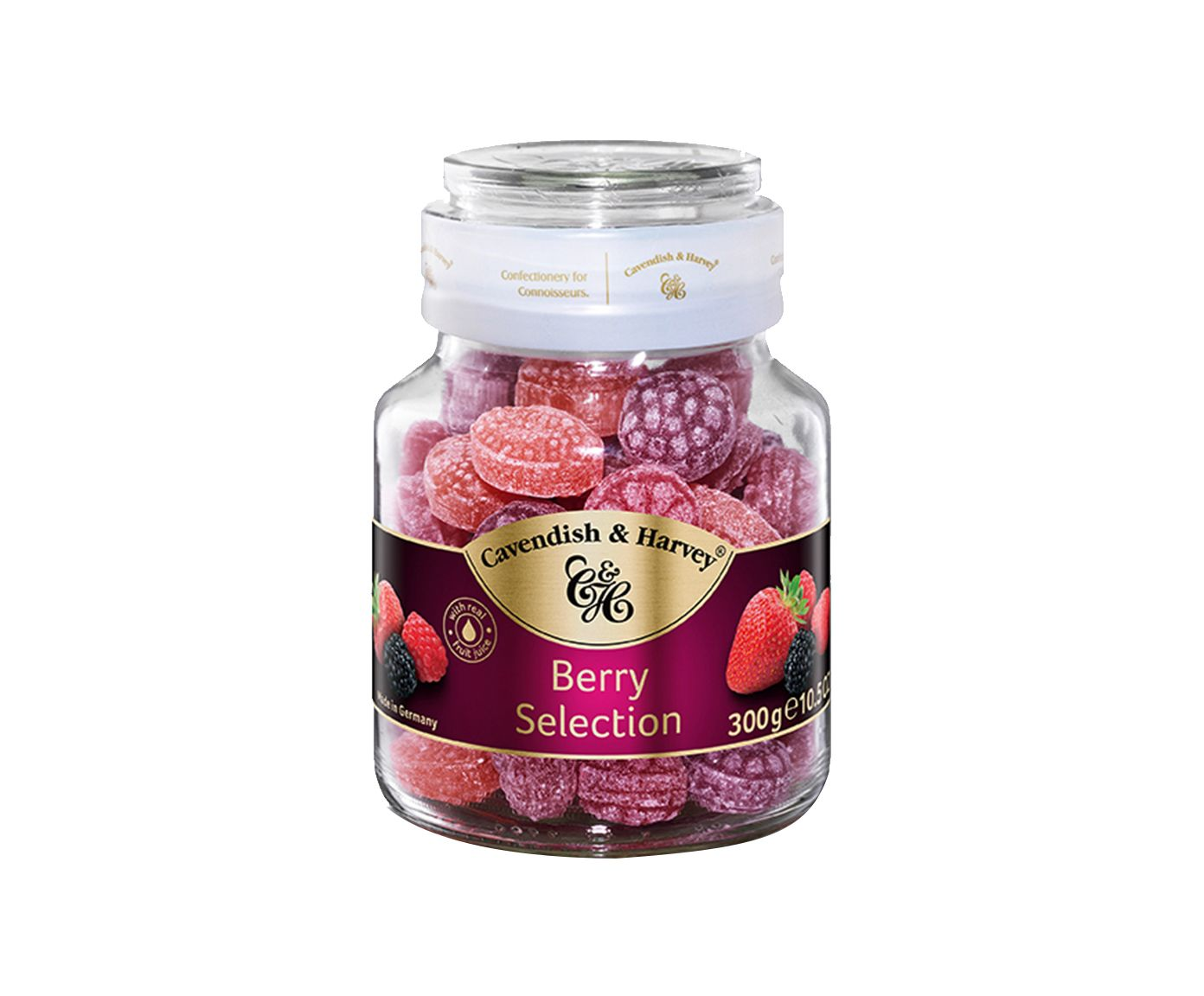 Bala Alemã Cavendish & Harvey Berry Selection - 300G | Westwing.com.br