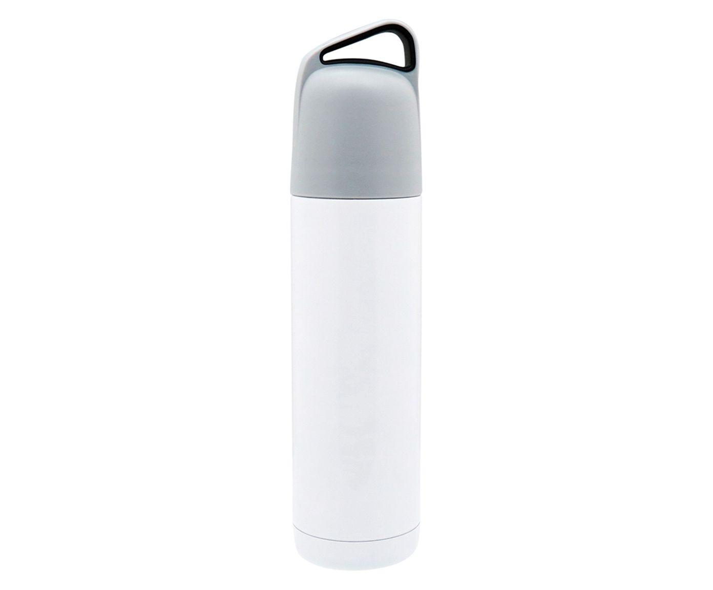 Garrafa Térmica em Inox Erre Branca - 500ml   Westwing.com.br