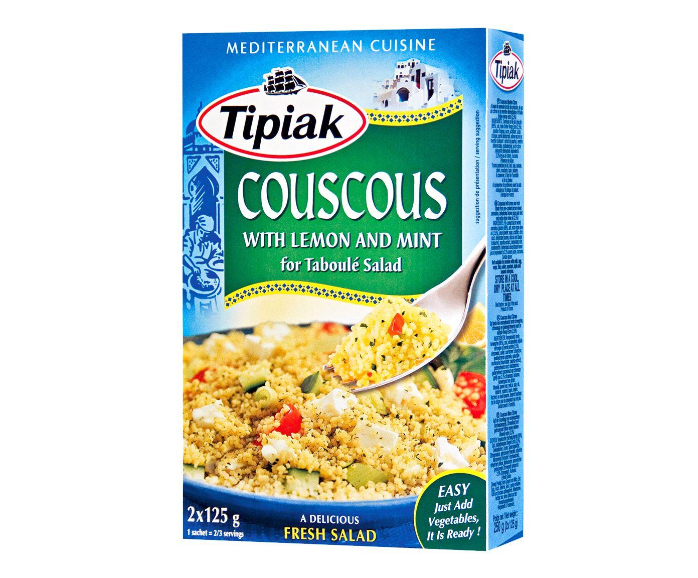Couscous Francês Tipiak Menthe Citron - 250G   Westwing.com.br