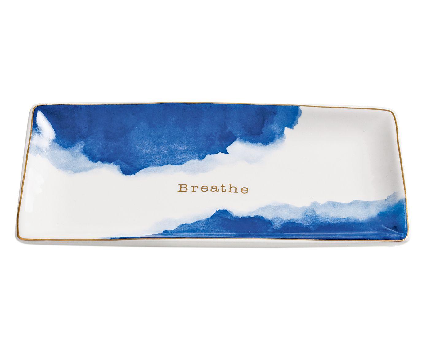 Prato Decorativo Breathe - 19X1,5X10,5cm | Westwing.com.br