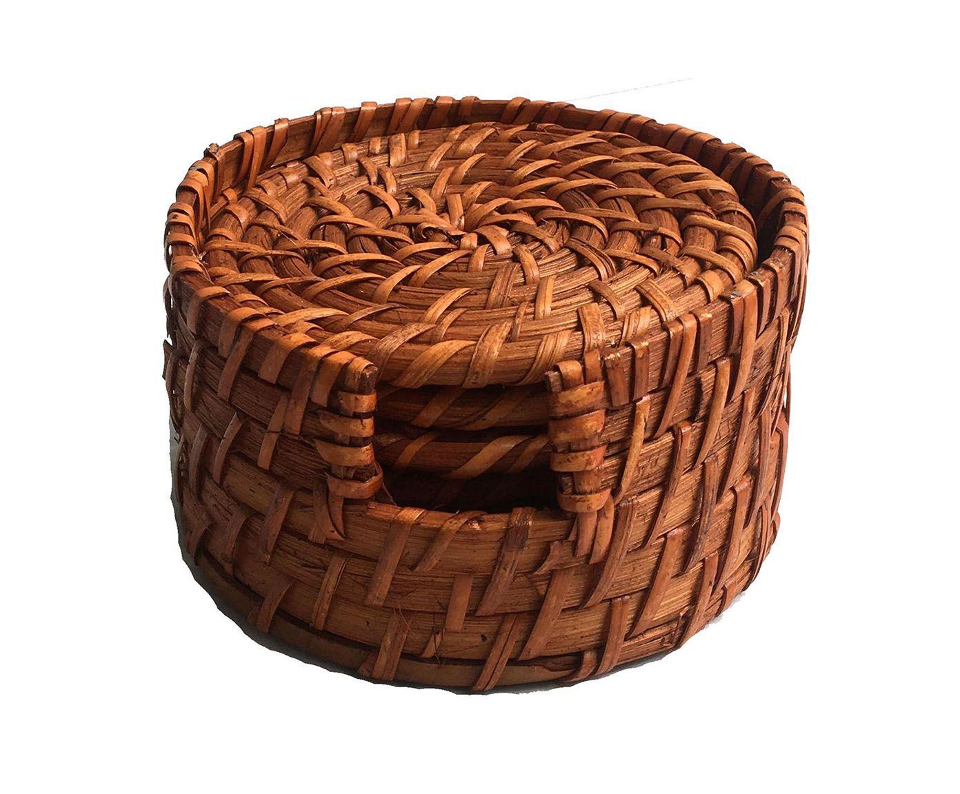 Jogo de Porta-Copo Ravazi Bege - 12cm | Westwing.com.br