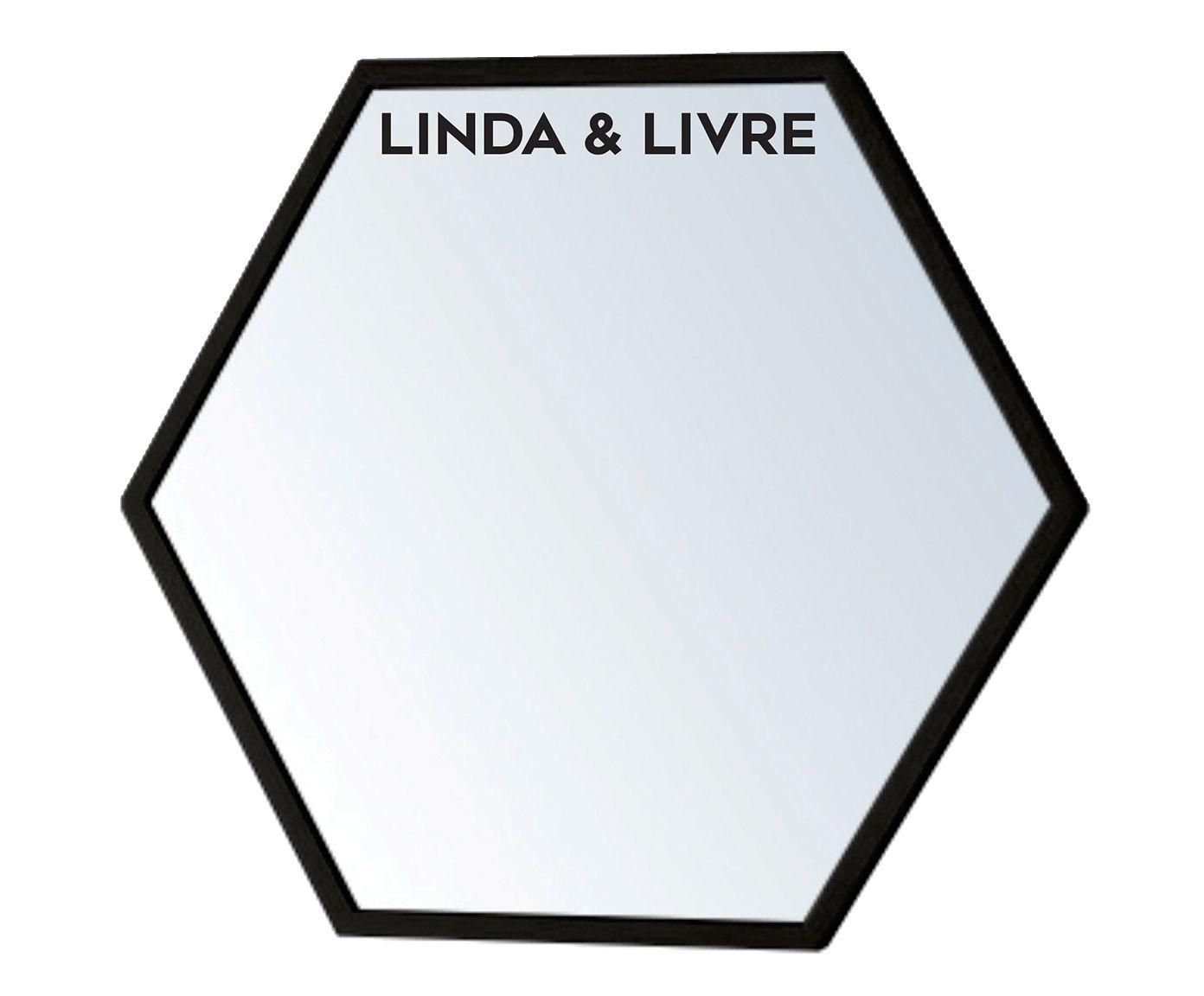Espelho de Parede Hexal Linda & Livre - 65X60X8cm   Westwing.com.br