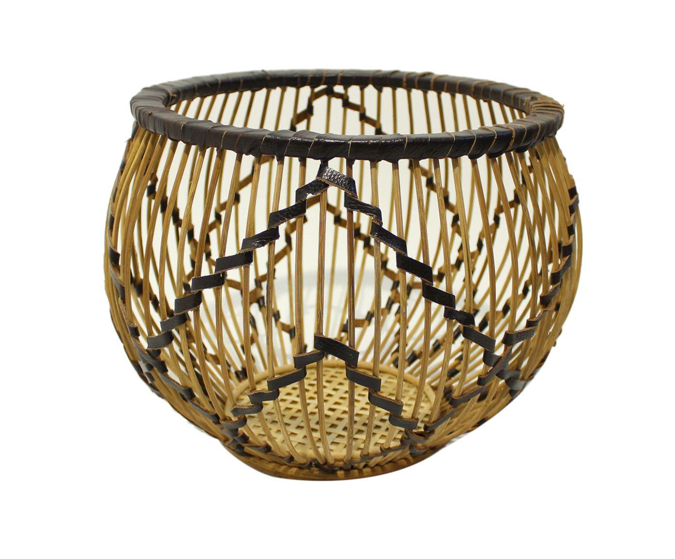 Cesto Organizador em Bambu Nemo - 36X50cm | Westwing.com.br