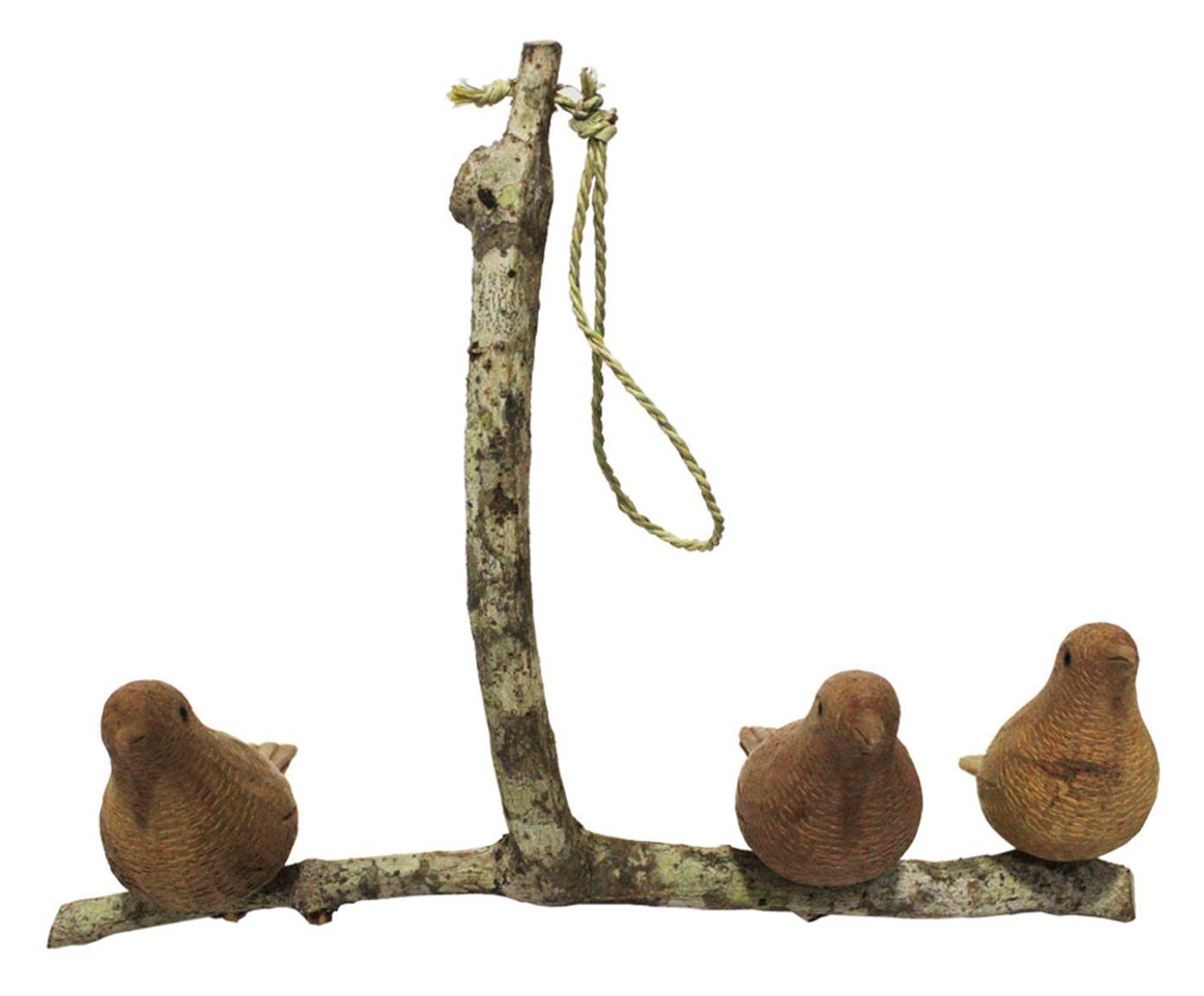 Móbile Galho com 3 Pássaros - 31X18X22cm | Westwing.com.br