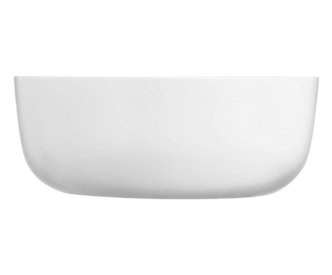 Assadeira Diwali Branca - 17,8X6,8X17,8cm   Westwing.com.br