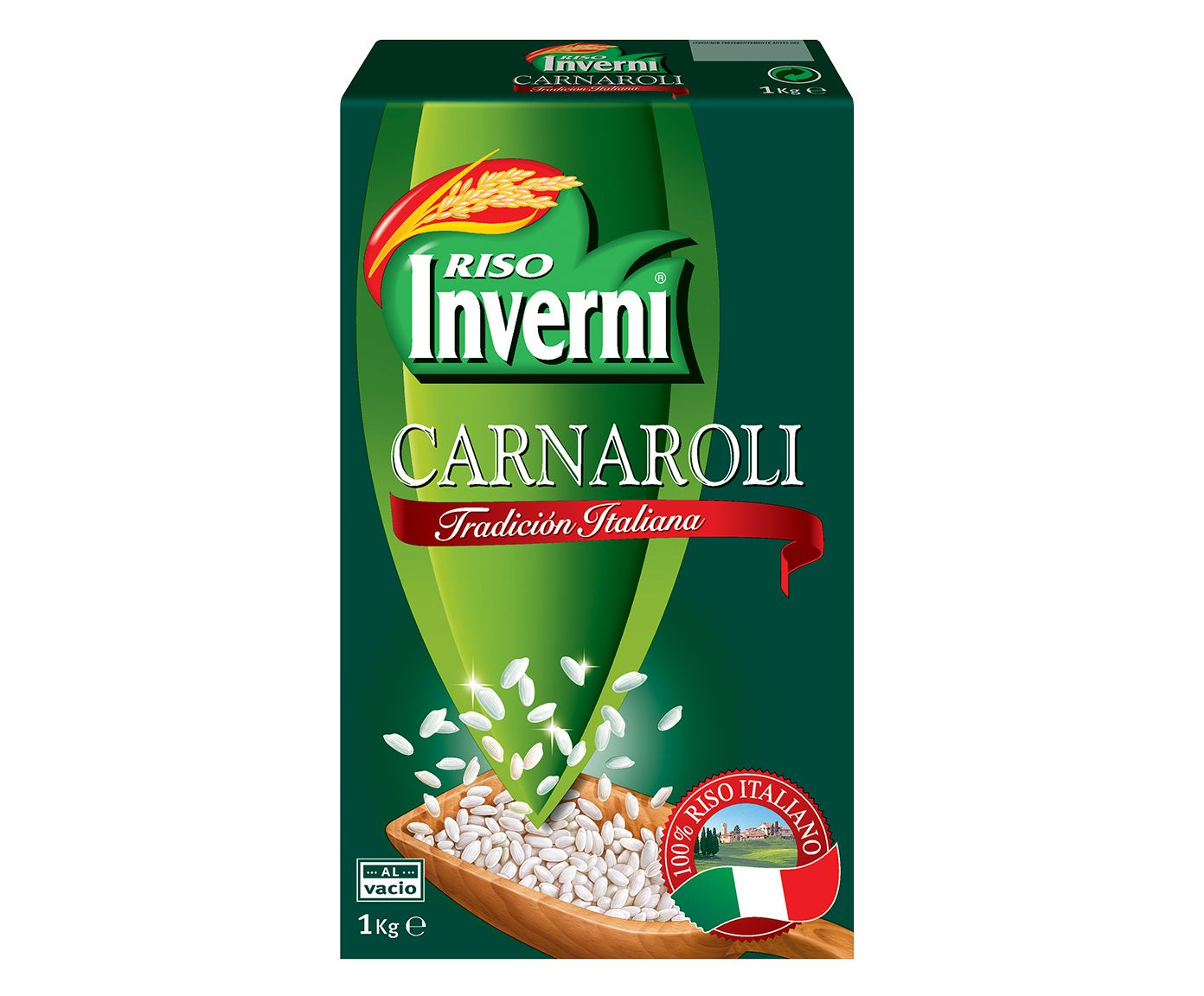 Arroz Italiano Inverni Carnaroli - 1Kg   Westwing.com.br