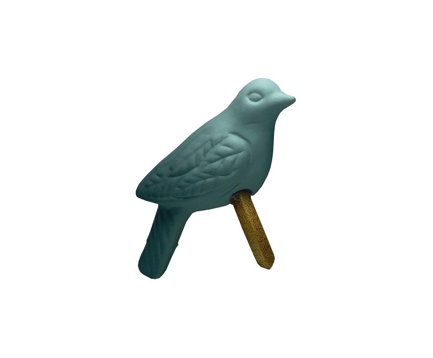 Anel para Guardanapo Pássaro Fosco Verde Claro | Westwing.com.br