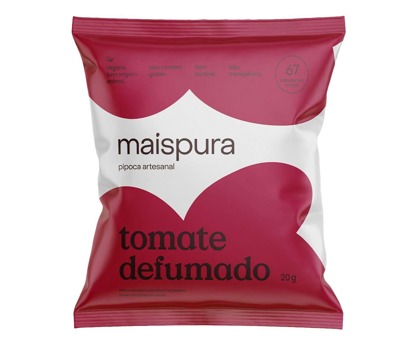 Pipoca Artesanal Mais Pura Tomate Defumado - 25G | Westwing.com.br