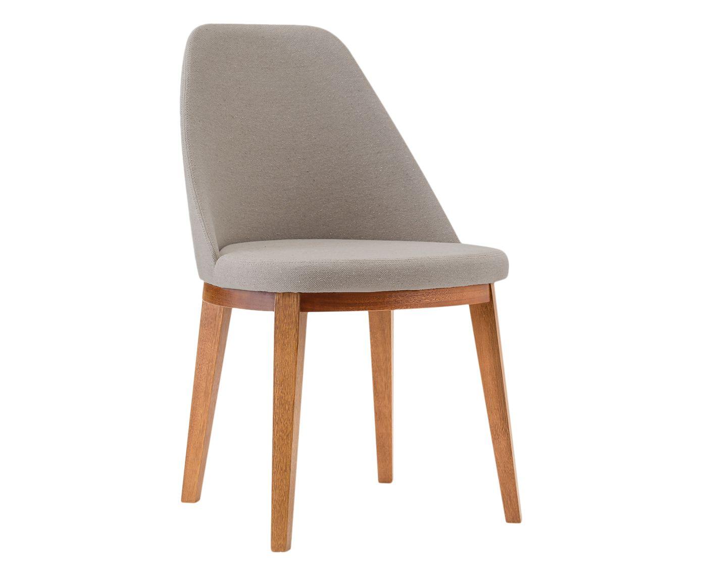 Cadeira Lisa Branca e Creme - 55X86X53cm | Westwing.com.br