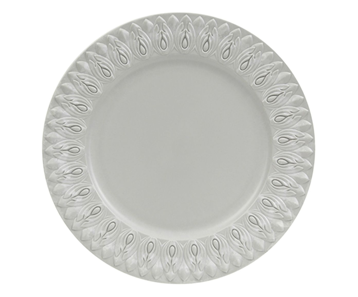 Sousplat Greco Jônico Branco - 33cm | Westwing.com.br