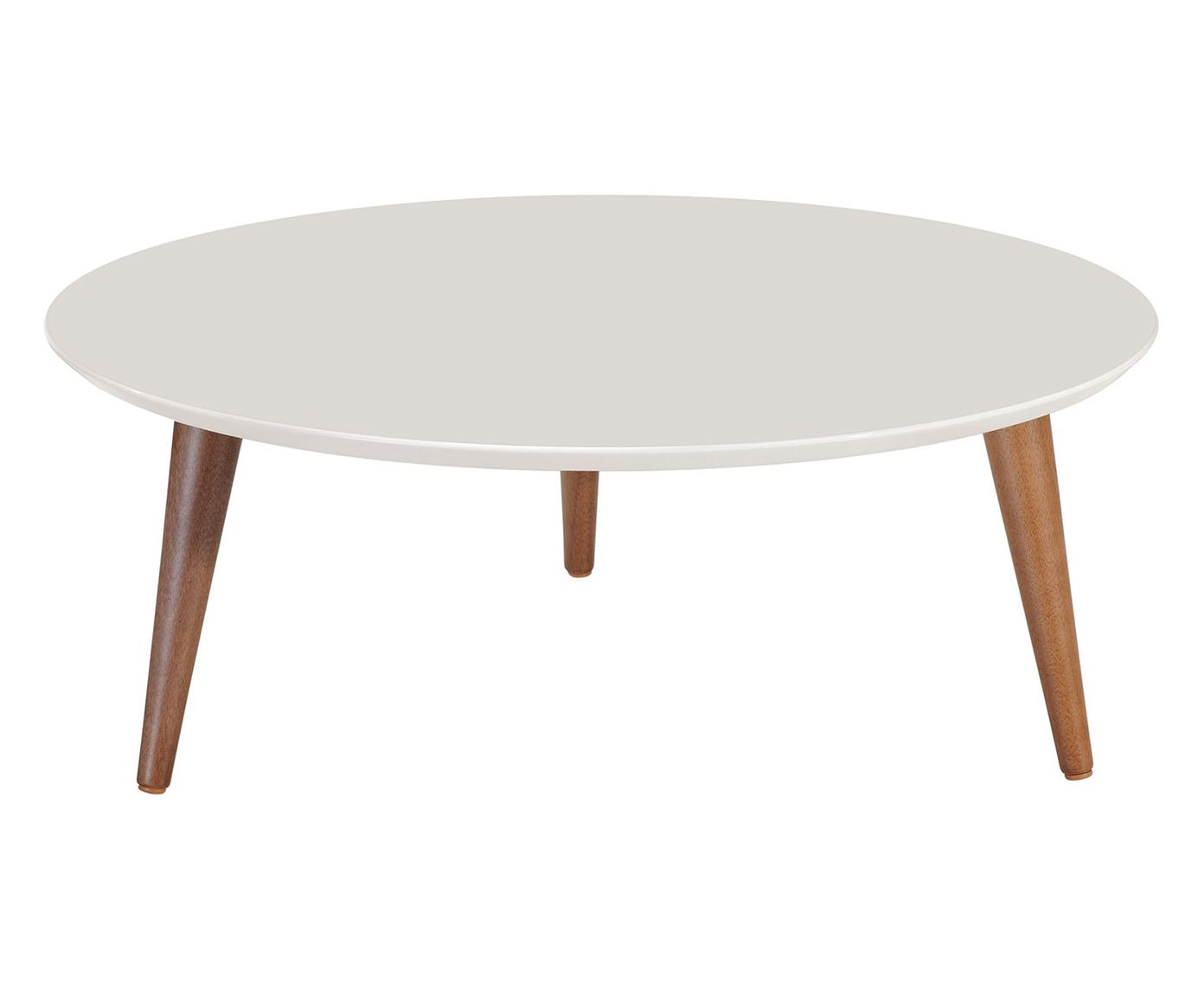 Mesa de Centro Classic Off White - 80cm   Westwing.com.br