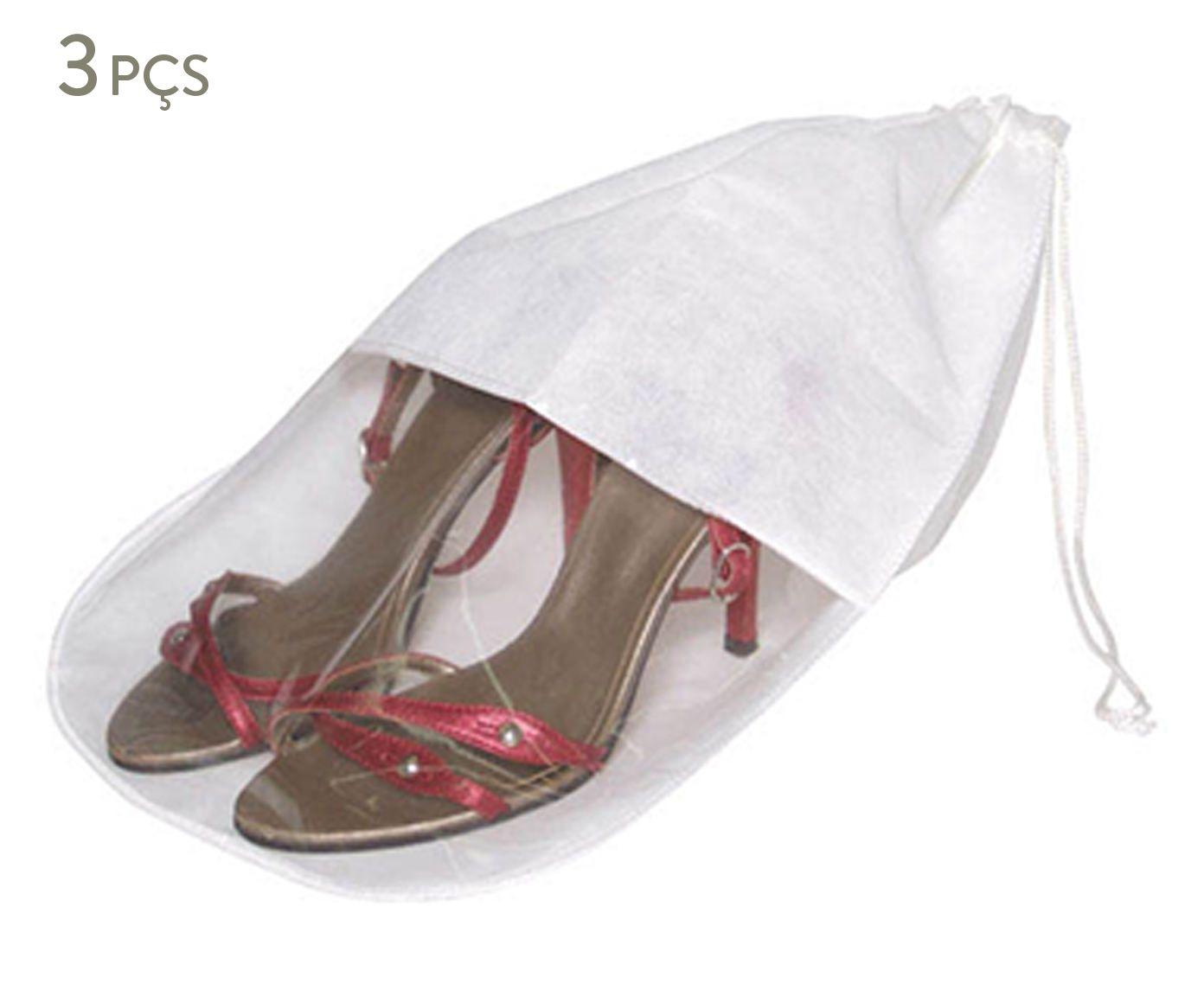 Jogo de Sacos para Sapatos Bewacht - 28X38cm | Westwing.com.br