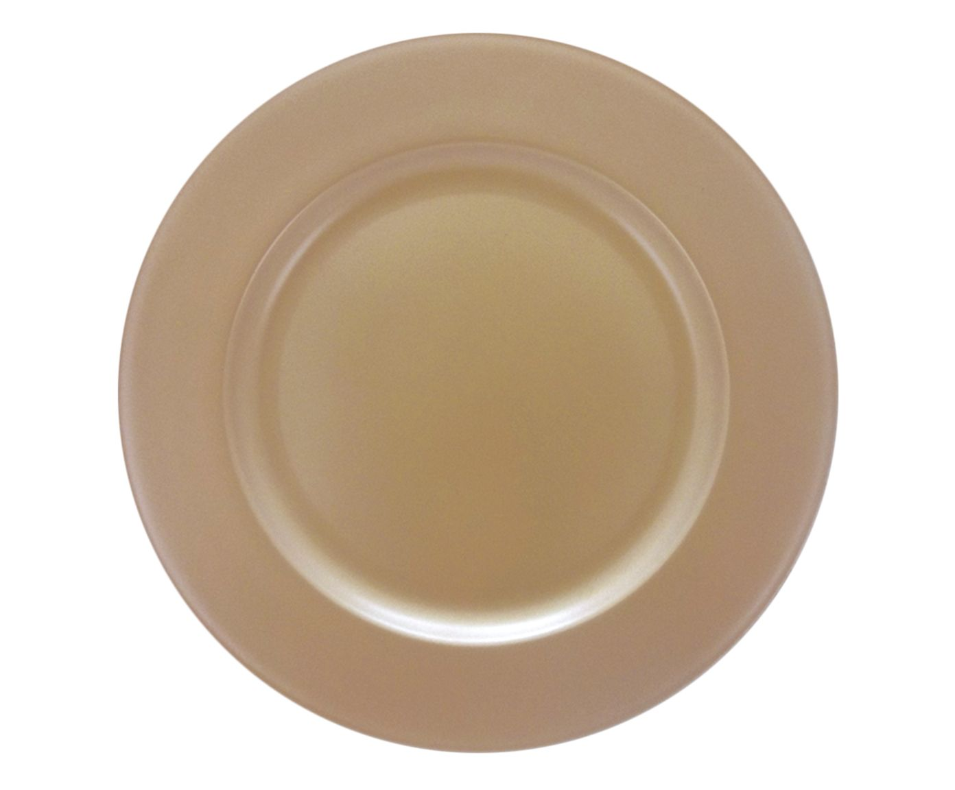 Sousplat Chá Dourado - 30cm | Westwing.com.br