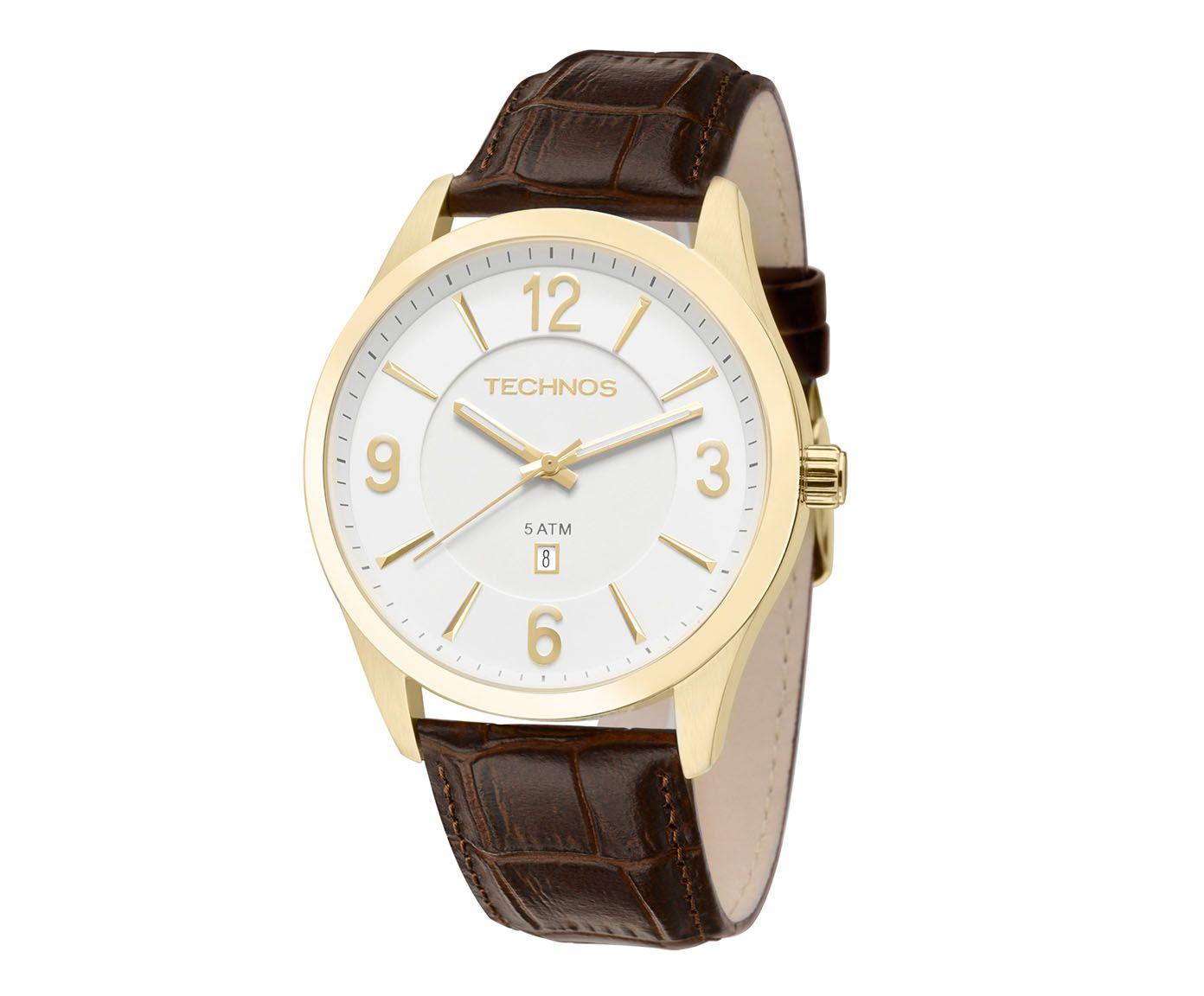 Relógio Technos Marrom | Westwing.com.br