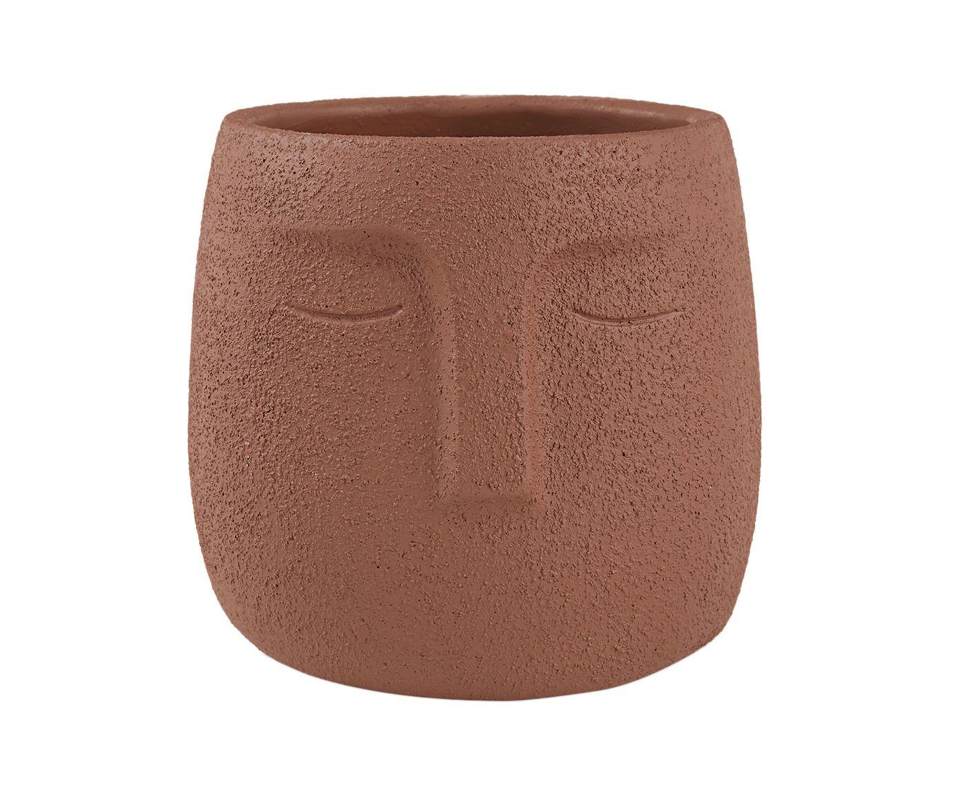 Cachepot Dimitra Marrom - 14,5cm | Westwing.com.br